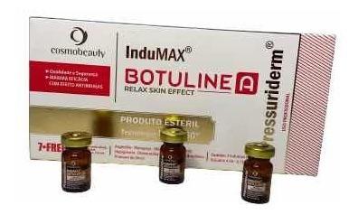 Botuline A Indumax Pressuriderm 3 Ampolas De 4ml Cosmobeauty
