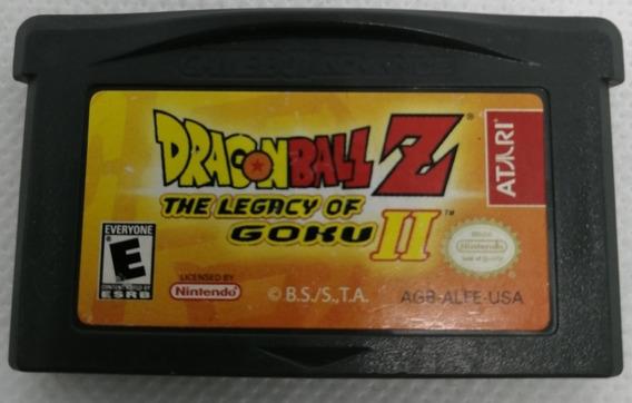 Dragon Ball Z The Legacy Of Goku Ii / Gba / *gmsvgspcs*