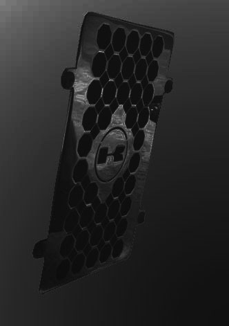 Protetor Capa De Radiador Vulcan 900 Preto Escape Cobra