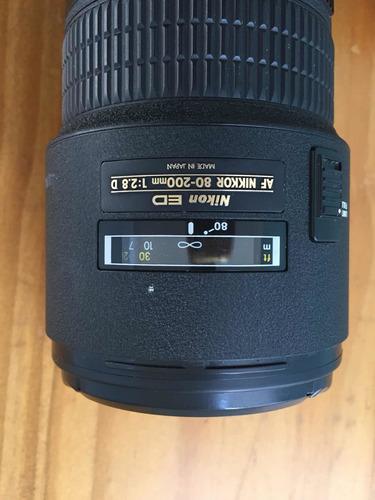 Lente Nikon 80 200mm 2.8