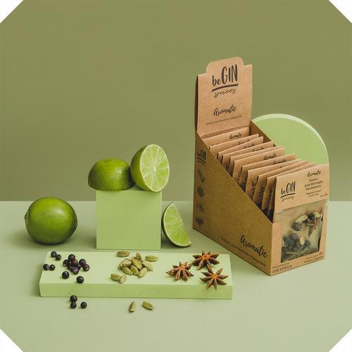 1 Box Aromatic - Especiarias Gin Tônica (12 Sachês)