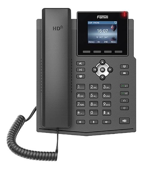 Telefono Ip X3sp Lcd Color C/ 2 Lineas Marca Fanvil