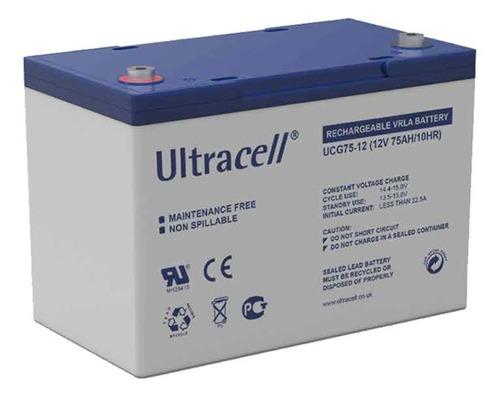 Bateria De Gel 12v 7a Para Alarmas Ultracell