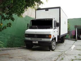 M.benz/709-94 Branco Baú 3/4 Gustavo-caminhões