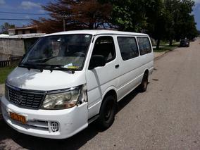 Brilliance Minibus Jimbei Año 2010 Dies