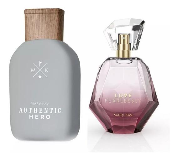Perfume Authentic Hero + Love Fearlessly Feminino Mary Kay