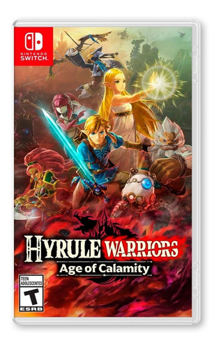 Zelda Hyrule Warriors: Age Of Calamity - Nintendo Switch