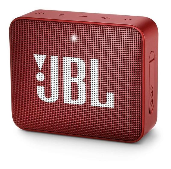 Jbl Go 2 100% Original Vermelha 12xs/juros