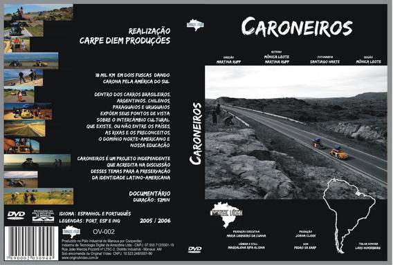 Caroneiros - Dvd - 18 Mil Quilômetros Em Dois Fusca