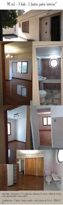 Departamento Residencial Seminario 90 M2 3h2b Patio