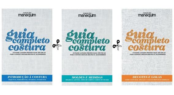 Kit Guia Completo Da Costura - Passo-a-passo Com Fotos
