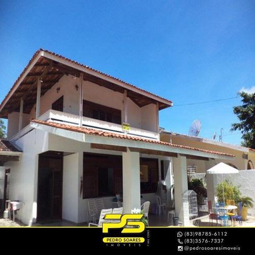 Casa Com 3 Dormitórios À Venda Por R$ 800.000,00 - Camboinha - Cabedelo/pb - Ca0661