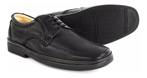 Zapato Calzado Clinicus Caballero Diabetes Café Negro 1361