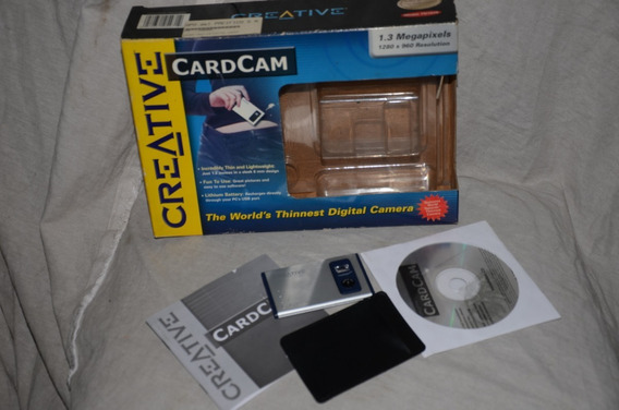 Camara Antigua Digital Cardcam Creative