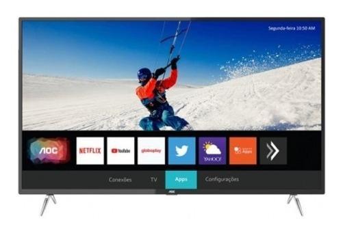 Smart Tv Led 50 50u6295/78g 4k Wi-fi Usb Hdmi 60hz - Aoc
