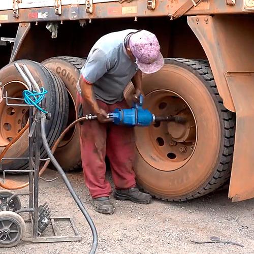 Imagem 1 de 7 de Parafusadeira De Tirar Pneu De Caminhão Carreta 320kg Ci5