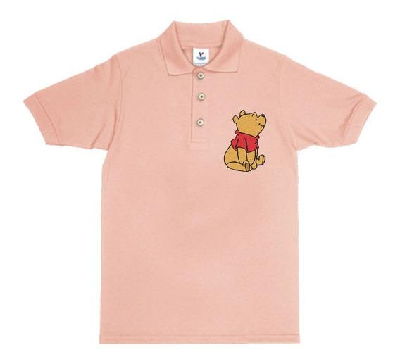 Playera Polo Winnie Pooh Opcion Personalizada