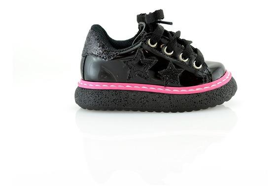 Zapato Moda Nena 20 Al 26 Charol 650-10 Elis Calzados