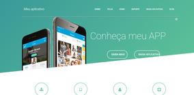 Site Para Apresenta Aplicativos App