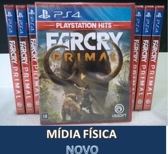 Far Cry Primal - Ps4 - Mídia Física - Lacrado