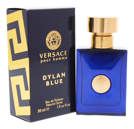 Fragancia Dylan Blue De Versace P/caballero, 1 Oz, Edt
