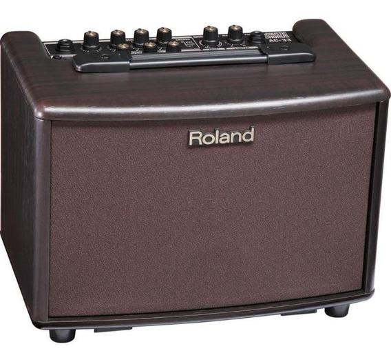 Amplificador Violão Roland Ac-33rw 30w - Fonte Bivolt
