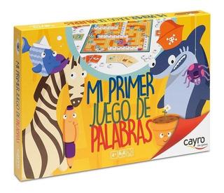 161 Mi Primer Juego De Palabras T Scrabble 125 Piezas Cayro