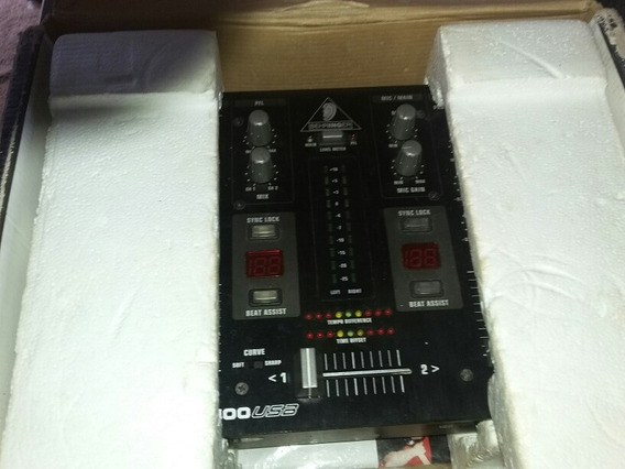 Mixer Behringer Vmx100 Usb Semi Novo Na Caixa