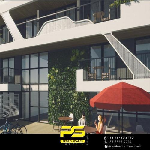 Apartamento Com 2 Dormitórios À Venda, 54 M² Por R$ 836.000 - Bessa - João Pessoa/pb - Ap4072