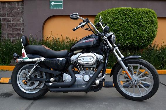 Harley Davidson Sportster 883 Todo Pagado Varios Extras