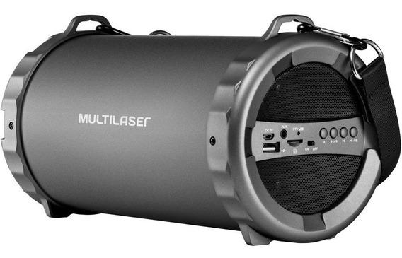 Caixa De Som Sp233 Bazooka Usb Bluetooth Multilaser 20w