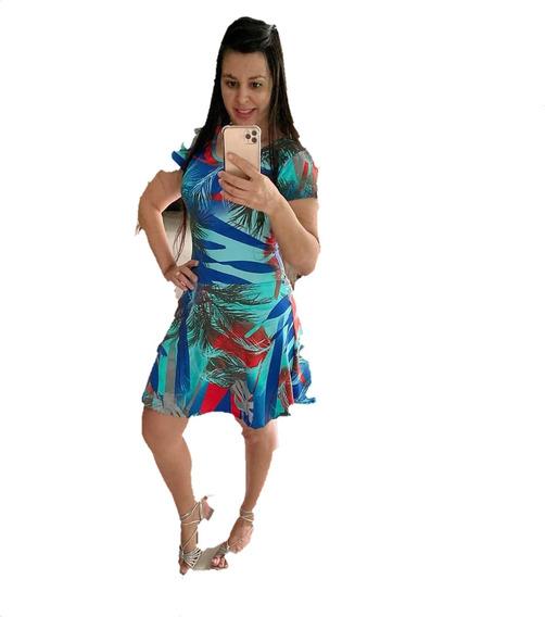 Moda Fitnes Macacão Com Shorts Saia, Promoção+ Frete Grátis