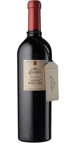 Imagen 1 de 10 de Vino Escorihuela Gascon Pequeñas Producciones Malbec 750ml