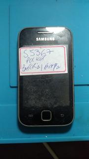 Celular Samsung Pocket S5367 Retirada De Peças.