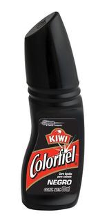 Cera Líquida Para Calzado Colorfiel Color Negro 60ml.