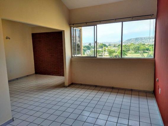 Renta Departamento Plaza Parque Priv Fac 2 Rec 1 Est Lujo