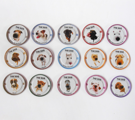 Lote Tazos Chapitas The Dog Pepsico 2005 Artlist Collection