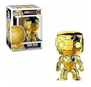 Funko Pop Marvel #375 10 Years Gold Chrome Iron Man