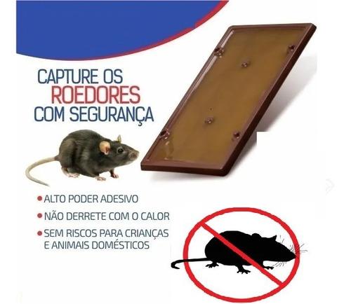 2 Armadilha Sem Veneno Placa De Cola Para Camundongos Ratos