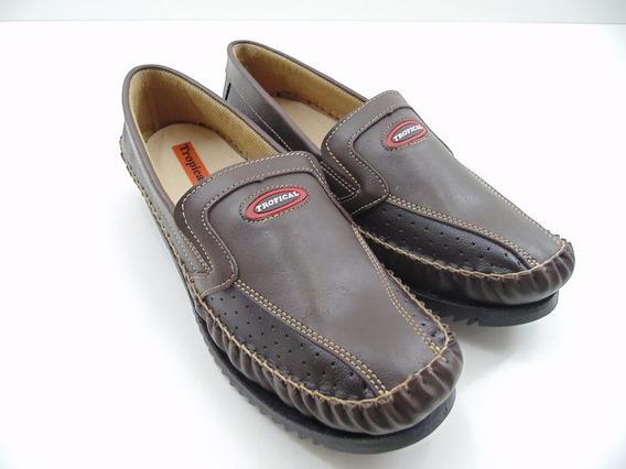 Sapato Mocassim Sapatilha Tropical Masculino Adulto Tradicio