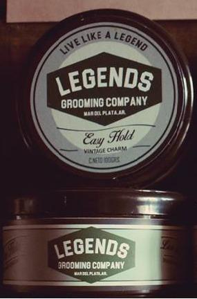 Pomada Para El Cabello Legends Easy Hold Barber X200gr