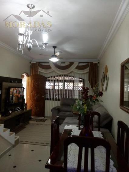 Sobrado Para Venda Em São Vicente, Esplanada Dos Barreiros, 3 Dormitórios, 1 Suíte, 2 Banheiros, 2 Vagas - 88888