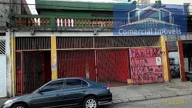 Salão Comercial Para Locação Em Embu Das Artes, Jardim Ângela, 3 Vagas - Sl018_2-798916