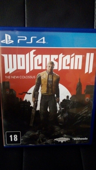 Wolfenstein 2 Ps4 The New Colossus Barato!