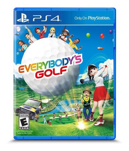 Ps4 Everybody´s Golf / Fisico