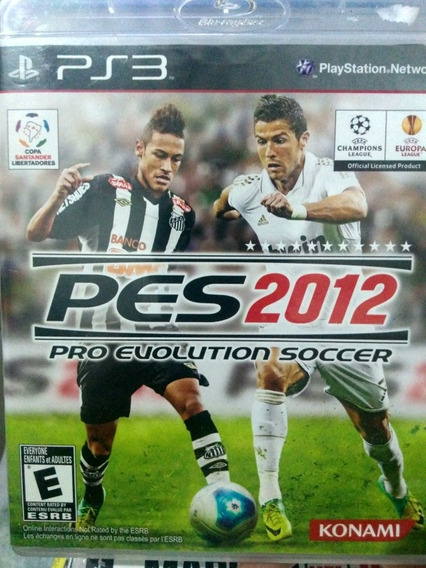 Pes 2012 Ps3 Original , A Pronta Entrega