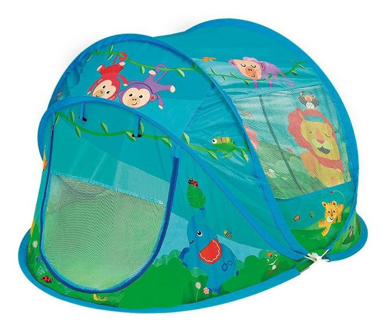 Barraca Fisher-price Bichinhos Da Selva - Fun Divirta-se