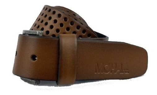Cinturon Cuero Perforaciones Hombre | Moha (195225)
