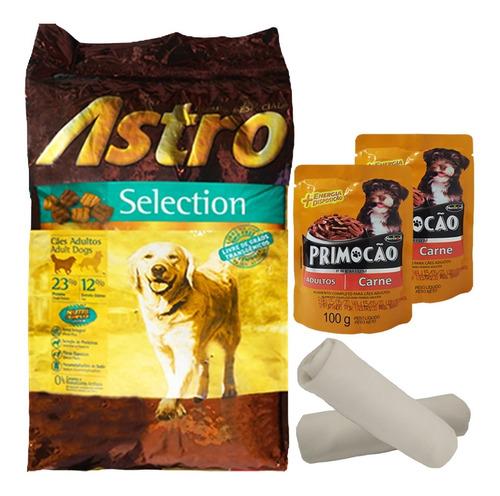 Imagen 1 de 2 de Alimento Adulto Astro Selection 15 + 2 Kg + Regalo + Envío