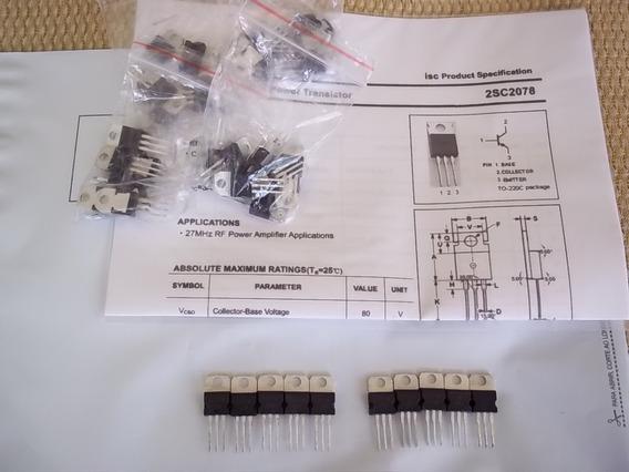 Transistor De R.f - 2sc 2078 - Radio Hf Px Ñ Yaesu Kenwood